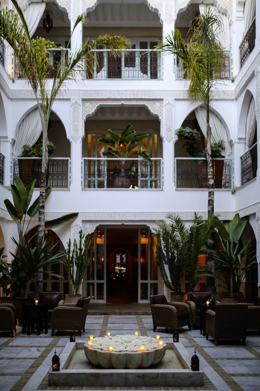 Karin Kaswurm in Marokko, Agadir mir L'Oreal für Aura Botanica